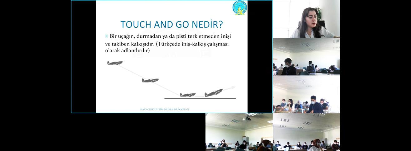 DHMİ Havavacılık Akademisi Esenboğa Tesislerinde Düzenlenen Online Eğitimler Devam Ediyor