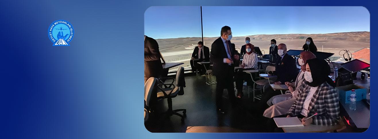 Genel Müdür Yardımcımız Sayın Enes ÇAKMAK DHMİ Havacılık Akademisinde İncelemelerde Bulundu
