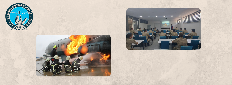 Kurtarma ve Yangınla Mücadele (Hava Aracı) Eğitimi Başladı