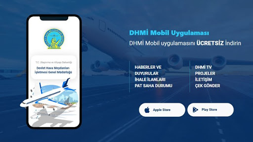 """DHMİ'den Mobil Uygulama """"UÇUŞ REHBERİM"""""""