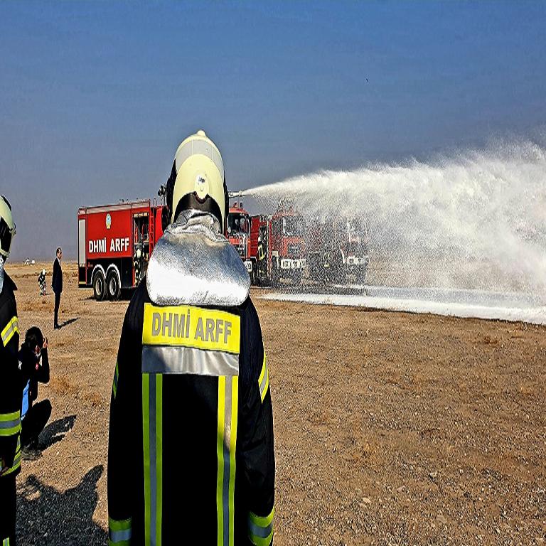 Havalimanımız 2020 Yılı Ateşli Yangın Tatbikatı Başarılı Bir Şekilde Gerçekleştirildi.