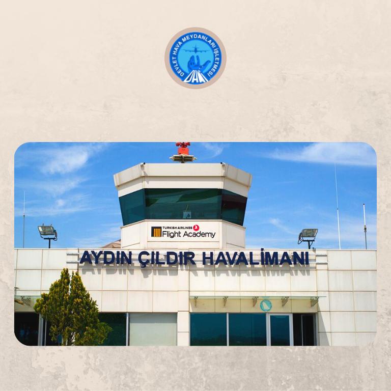 AYDIN ÇILDIR HAVALİMANI'NDA (TURKISH AIRLINES FLIGHT ACADEMY) YÜZ YÜZE EĞİTİM FAALİYETLERİ BAŞLADI